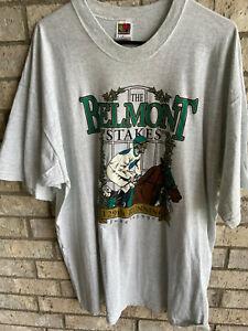 nice! vintage 1997 BELMONT STAKES XXL FRUIT OF THE LOOM LOFTEEZ USA TEE SHIRT