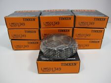 LOT of 10 (Ten) Genuine TIMKEN  LM501349 Bearings Made in USA