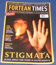 FORTEAN TIMES FT163 OCTOBER 2002 - STIGMATA