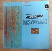 33 tours folk Cisco Houston sur petit label JOC G+