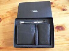 Geldbörse, Schlüsseletui, Kugelschreiber - edles Set von Henson & Henson,schwarz