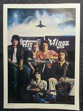 """1979 PAUL McCARTNEY & WINGS 11.75x16.25"""" Print #42 by Steven Chapple FVF 7.0"""