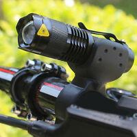CREE Q5 LED Licht Bike Fahrradlampe Fahrradbeleuchtung Fahrradlicht Set 1 2018