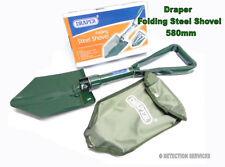 Draper Folding Steel Schaufel 580 mm spaten per metalldetektor