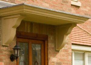 Door Canopy  Porch  Bath Stone not concrete