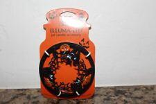 Yankee Candle Halloween Black Cats & Pumpkins Illuma Lid Topper~Halloween~HTF~