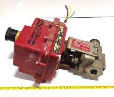 "ASAHI ELECTRIC ACTUATOR A92XWJ W/ RENCOR 1"" VALVE  SS 800 CF8M 104722"