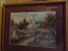 By Carl Valenti vover bridge by the chapel/