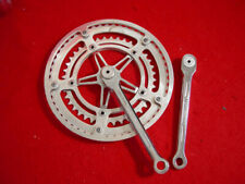 Nervar Sport 170 mm Crank Set Road 52 / 40 France Used