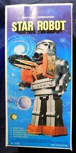 Robot vintage - STAR ROBOT; Stormtrooper. Teruhisa Kitahara. Hauteur 29 cm. 1970