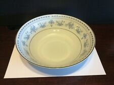 """Seizan Fine China """"Blue Dawn"""" Round Vegetable/Serving Bowl 9 Inches Wide"""