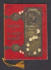CALENDARIETTO SATININE 1907 MILANO -  FAUSTINA old pocket calendar - OTTIMO