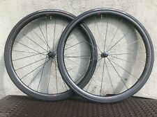 Bontrager Aeolus XXX 2 Carbon Tubeless / TLR Wheelset + Vittoria Speed 2.0 Tires