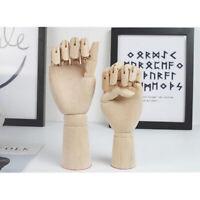 18cm 25cm 2pcs Wooden Mannequin Right Hand Human Artist Model Photography Props