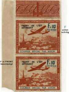 FRANKREICH LEGION V/III* OSTFRONT FRANCE CORPS EXPEDITIONAIRE LEGION VOLONTAIRES