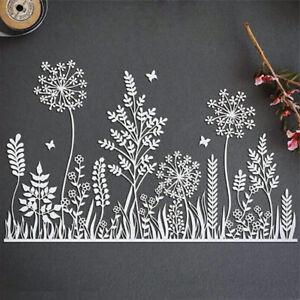 Stanzschablone Cutting Dies Blume Bäume Weihnachten Schablonen DIY Scrapbooking