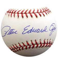 "PETE ROSE AUTOGRAPHED SIGNED MLB BASEBALL CINCINNATI REDS ""EDWARD"" PSA/DNA 7192"