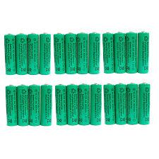 24 pcs AA 900mAh Ni-Cd  Ni-Cad 1.2V Rechargeable Battery RC Solar Green US Stock