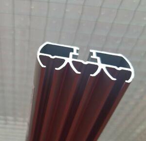 IKEA KVARTAL alu; 3läufig; Vorhangschiene auf Maß geschnitten Gardinenschiene
