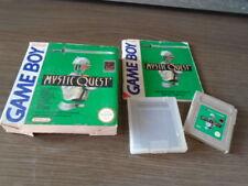 para nintendo gameboy mystic quest en su caja instrucciones hay que verlo