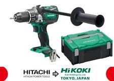 HIKOKI DV18DBXL 18V BRUSHLESS COMBI DRILL BRAND NEW HITACHI WITH CASE