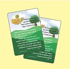 Smiling Is Infectious - 2 Verse Cards - SKU# 981