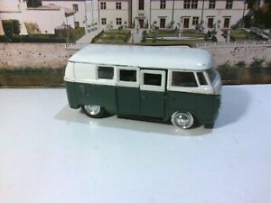 Diecast Welly Volkswagen Microbus 1962 for Spares or Repair.
