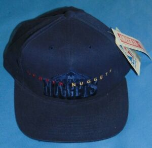NWT   DENVER NUGGETS  AMERICAN NEEDLE  CAP  NBA LICENSED  PRODUCT