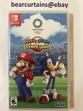 Mario Sonic at the Olympic Games Tokyo 2020 Switch Nintendo Brand New Sealed