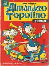 ALMANACCO TOPOLINO 1963 NUMERO 12 CON BOLLINO + FIGURINE