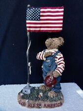 "Boyds Bears "" I Pledge Allegiance "" - Sammy Bearmerican - In Box"