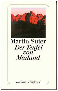 Martin Suter Der Teufel von Mailand Roman Taschenbuchausgabe sehr gut