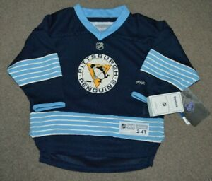 NWT Sidney Crosby Pittsburgh Penguins Reebok Hockey Jersey TODDLER 2T - 4T