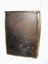 VINTAGE COPPER NEGATIVE PHOTOGRAPHIC PRINTING PLATE PRESS REV SAMUEL SANDY PINCH