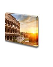 """Canvas Prints Wall Art - Coliseum at sunset Time - 16"""" x 24"""""""