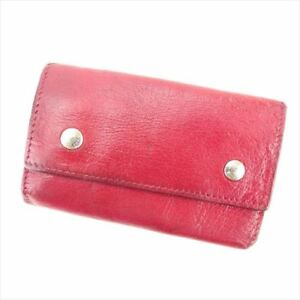 Hermes Key holder Key case Red Woman unisex Authentic Used T6183