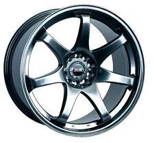 17x9  XXR 522 Rims 5x114.3/120  +25 Chromium Black Wheels (Set of 4)