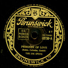 INK Spots-boy band-Prisoner of Love/i Cover the Waterfront 78rpm s9713