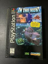 IN THE HUNT - LONG BOX - PS1 / PLAYSTATION - JEU COMPLET - OVP CIB - NTSC US