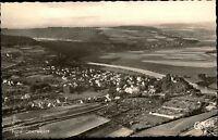 Polle Weserbergland alte Ansichtskarte ~1950/60 Gesamtansicht Cekade Luftbild