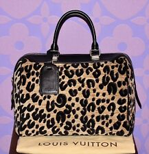 Louis Vuitton Sprouse LEOPARD Speedy 30 Bag Automne-Hiver *LIMITED* RUNWAY WOW!!