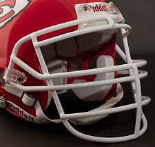 Schutt Super Pro RJOP Football Helmet Facemask / Faceguard (SAN FRAN RED)