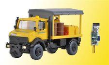 kibri 10770 Gauge H0,UNIMOG Lubricating vehicle track construction with LED-Bel.