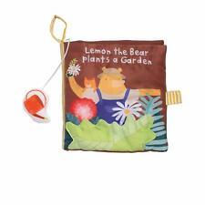 Manhattan Toy Lemon The Bear Plants A Garden Soft Toddler Activity Book