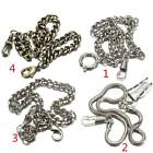 Vintage Men Alloy Belt Holder Retro Antique Fob Clasp Chain For Pocket Watch