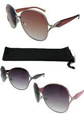 Ladies Oversized Sunreaders Tinted Reading Glasses UV Lenses 3 Frame Colours