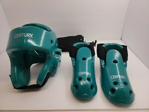 Century Sparring Gear  (Helmet size Young) + (Shoes 1/2) Size Karate