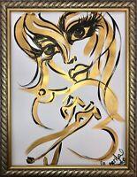 Margarita Bonke Malerei PAINTING art abstrakt abstract Bild erotica erotika akt