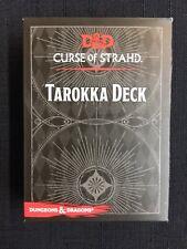 Dungeons & Dragons Curse Of Strahd Tarokka Deck Ravenloft NEW SEALED