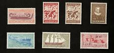 Denmark 1970-71 Lot of 7 Stamps Sc# 479-481, 472-475, Mnh